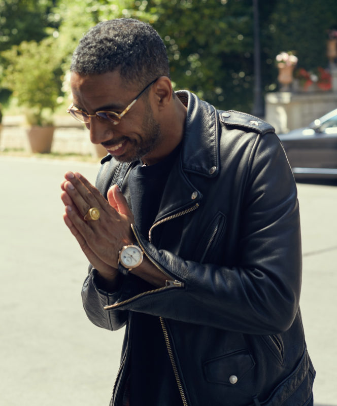 Musician and entrepreneur Ryan Leslie teams up with Parmigiani for a unique collaboration