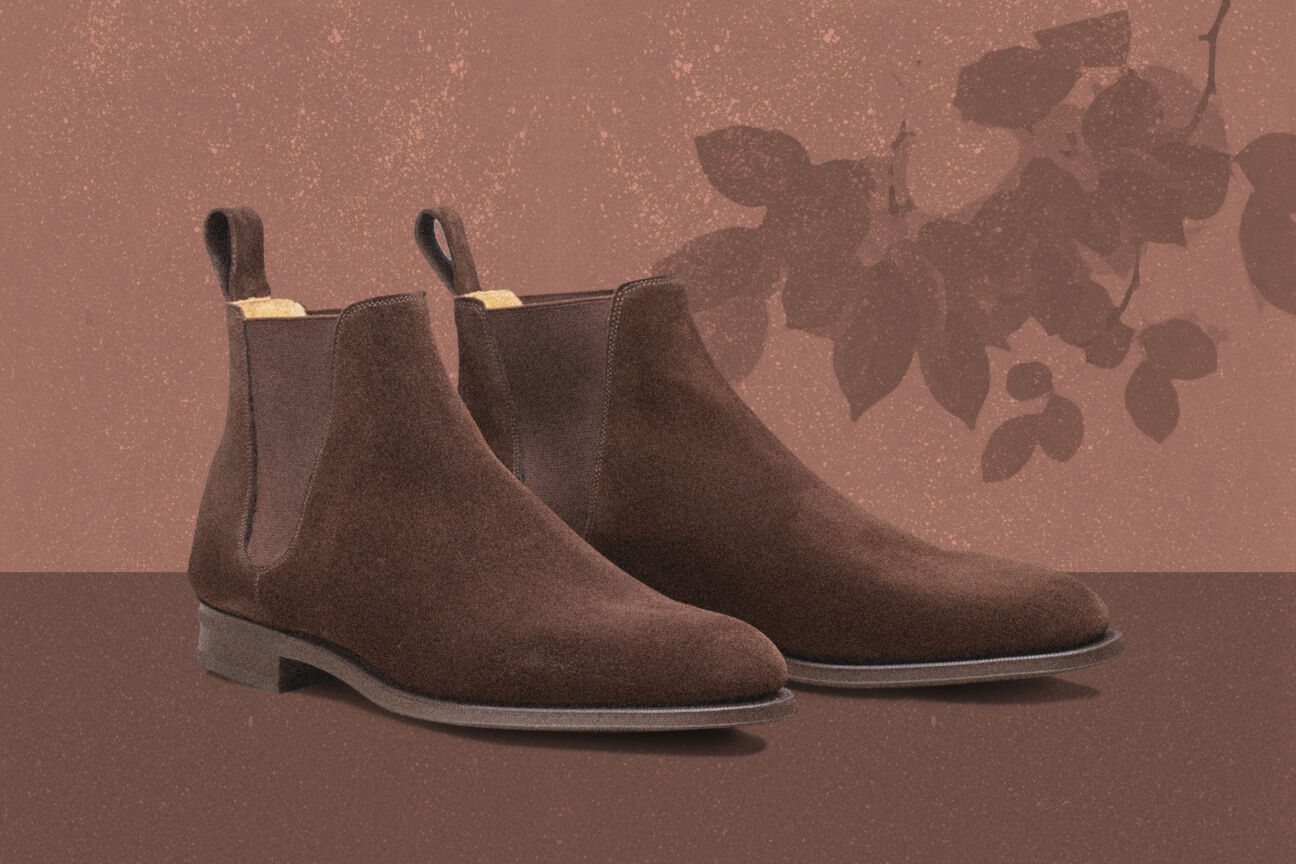 These are the six pairs of suede shoes