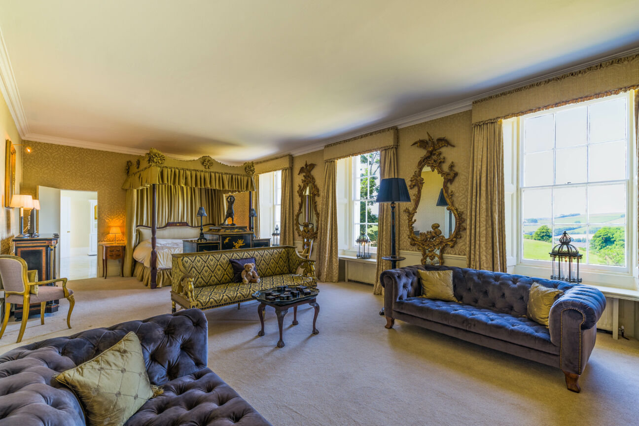 This Cornish manor house will have you wanting to escape the city
