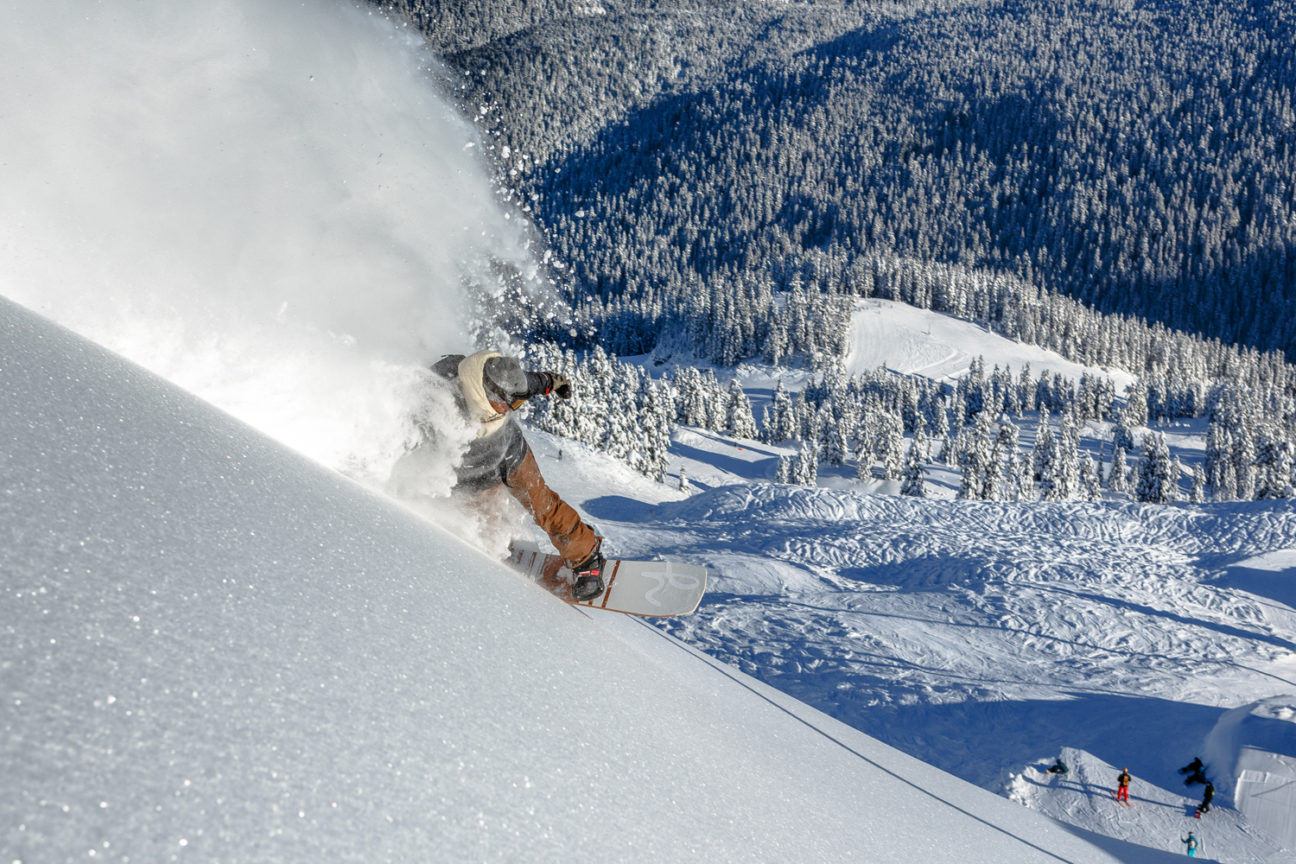 The finest resorts for powder this winter — according to a champion snowboarder