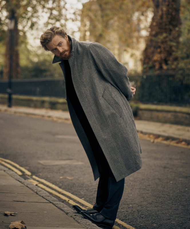 Jack Lowden is ready for his close-up
