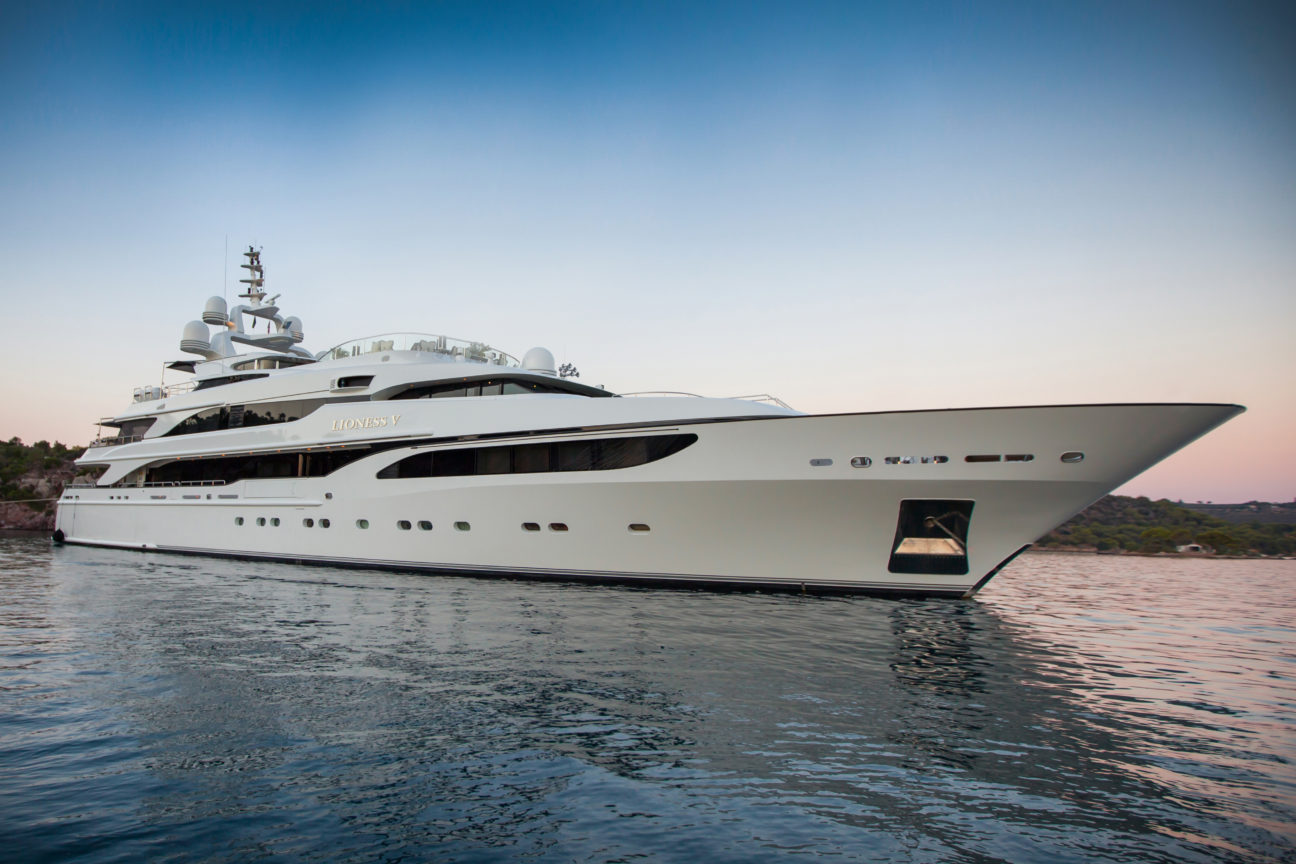 Superyacht Lioness V is the life and soul of the party