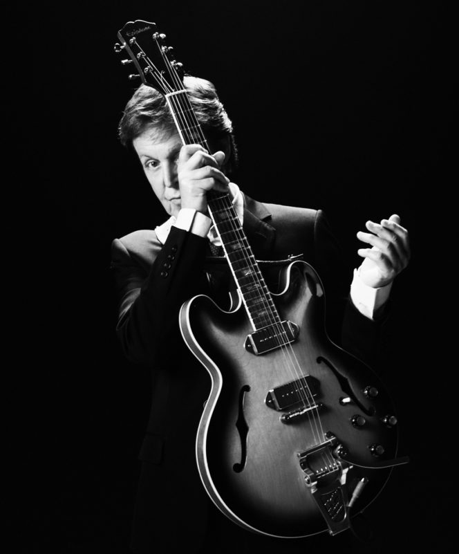Explore these unseen photos of Sir Paul McCartney, Prince William and more by Phil Griffin