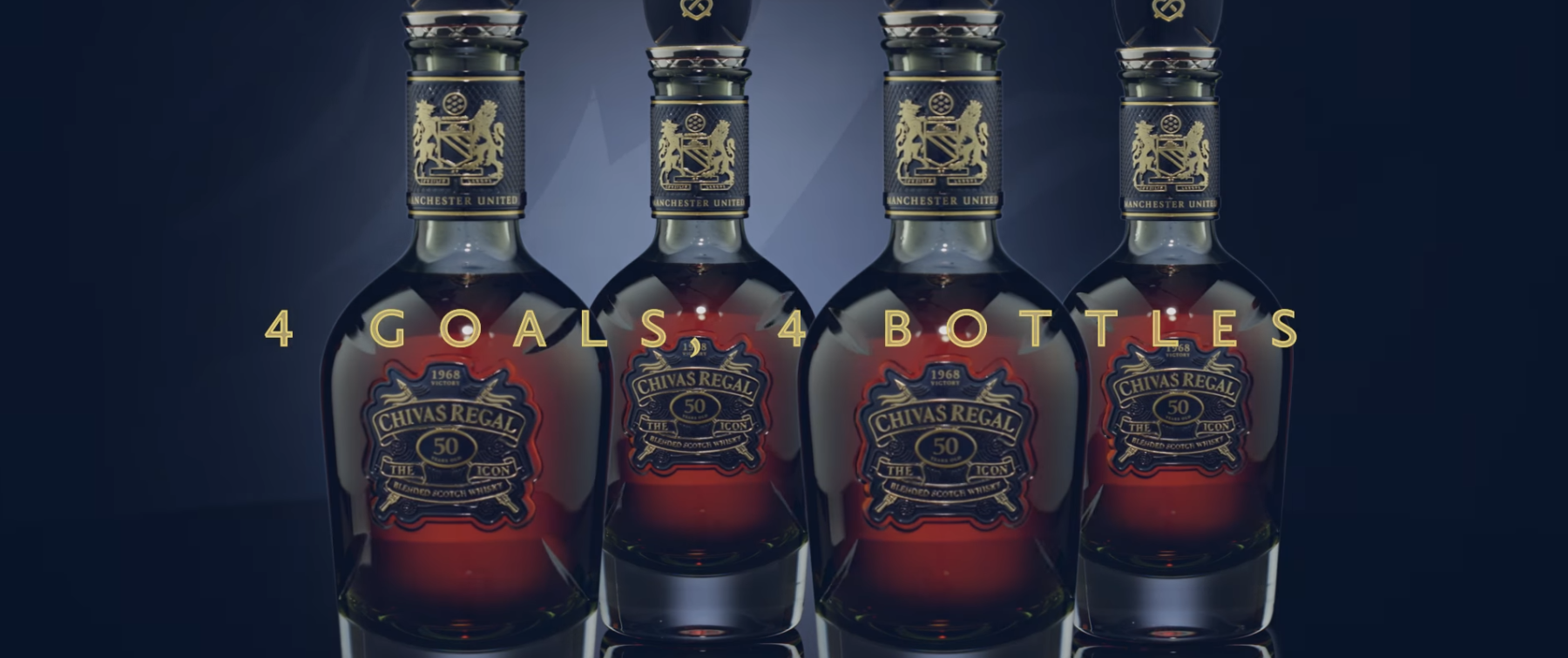 bc5cc8553 Chivas have released four bottles of their first ever 50 year old Scotch
