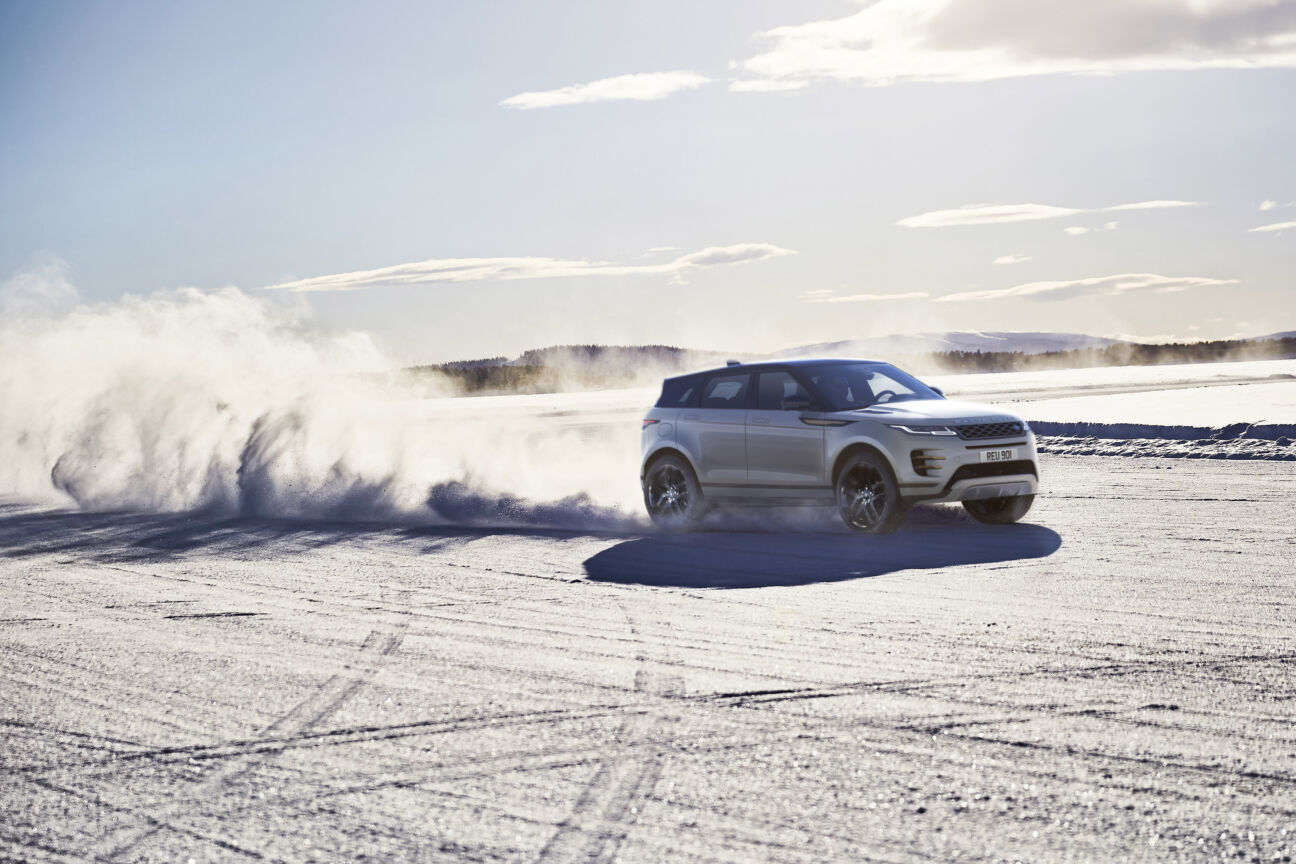 Land Rover introduce a new class of Evoque