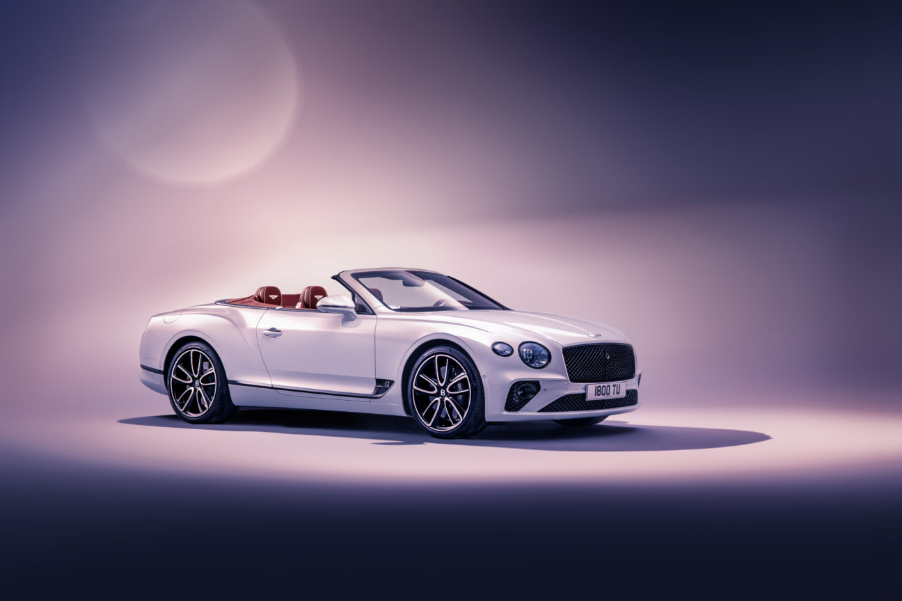 Introducing the new Bentley Continental GT Convertible