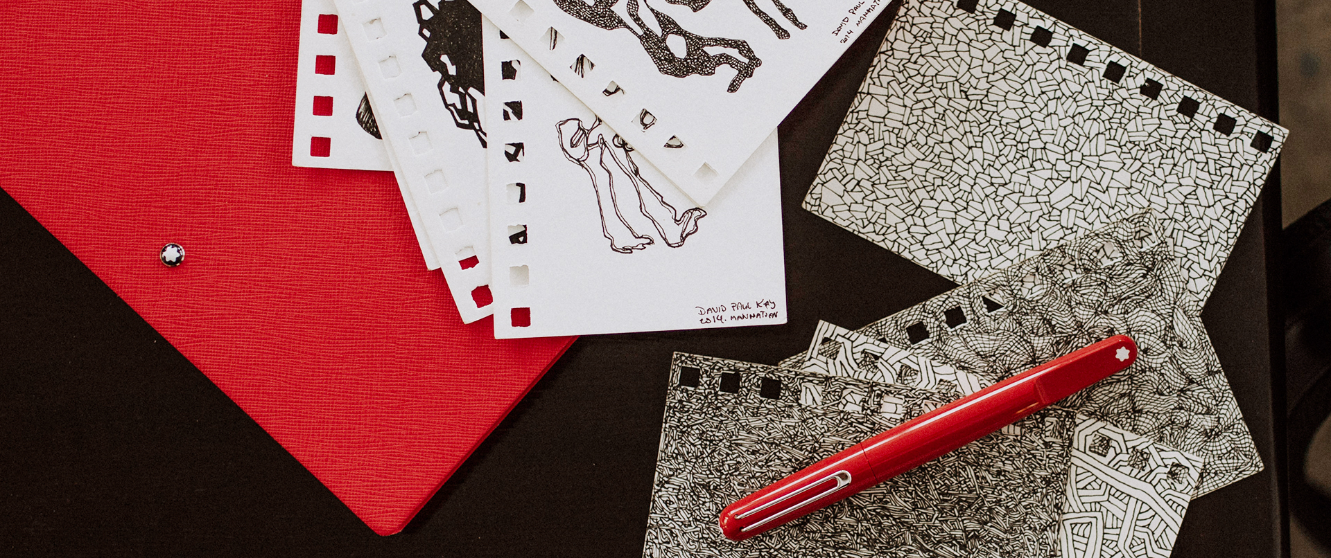 Montblanc and artist David Paul Kay make their mark on London