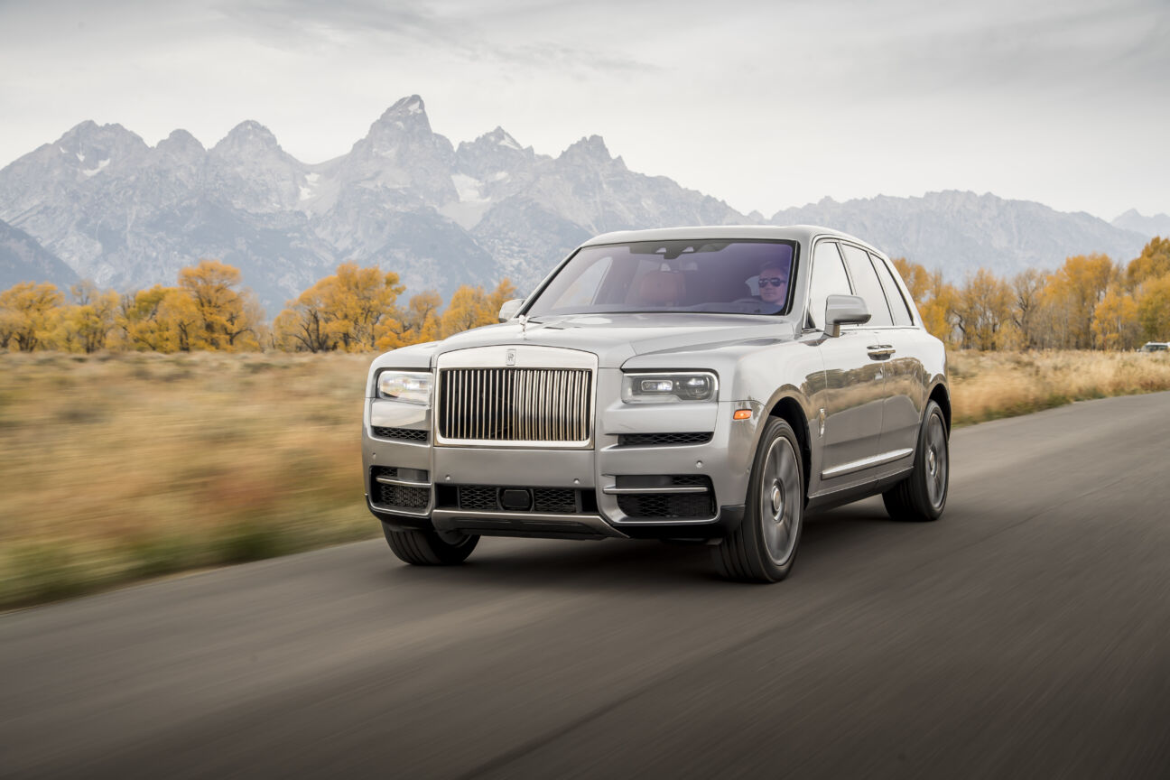 best luxury sux rolls-royce cullinan