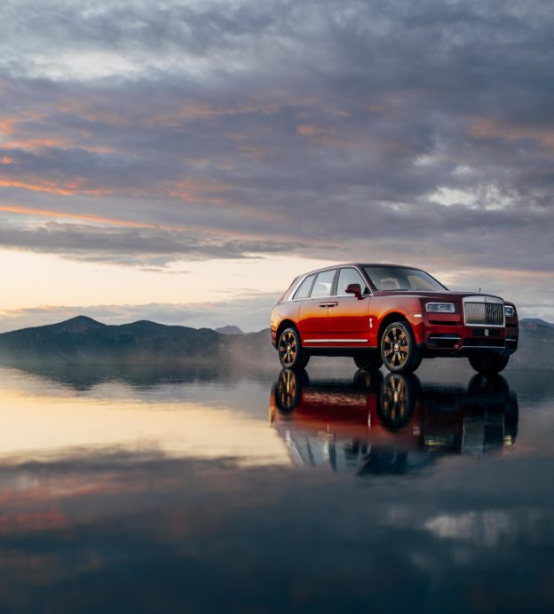 We took the new Rolls Royce Cullinan high into the Wyoming wilderness