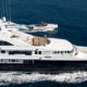 Superyacht Helios is a floating art gallery