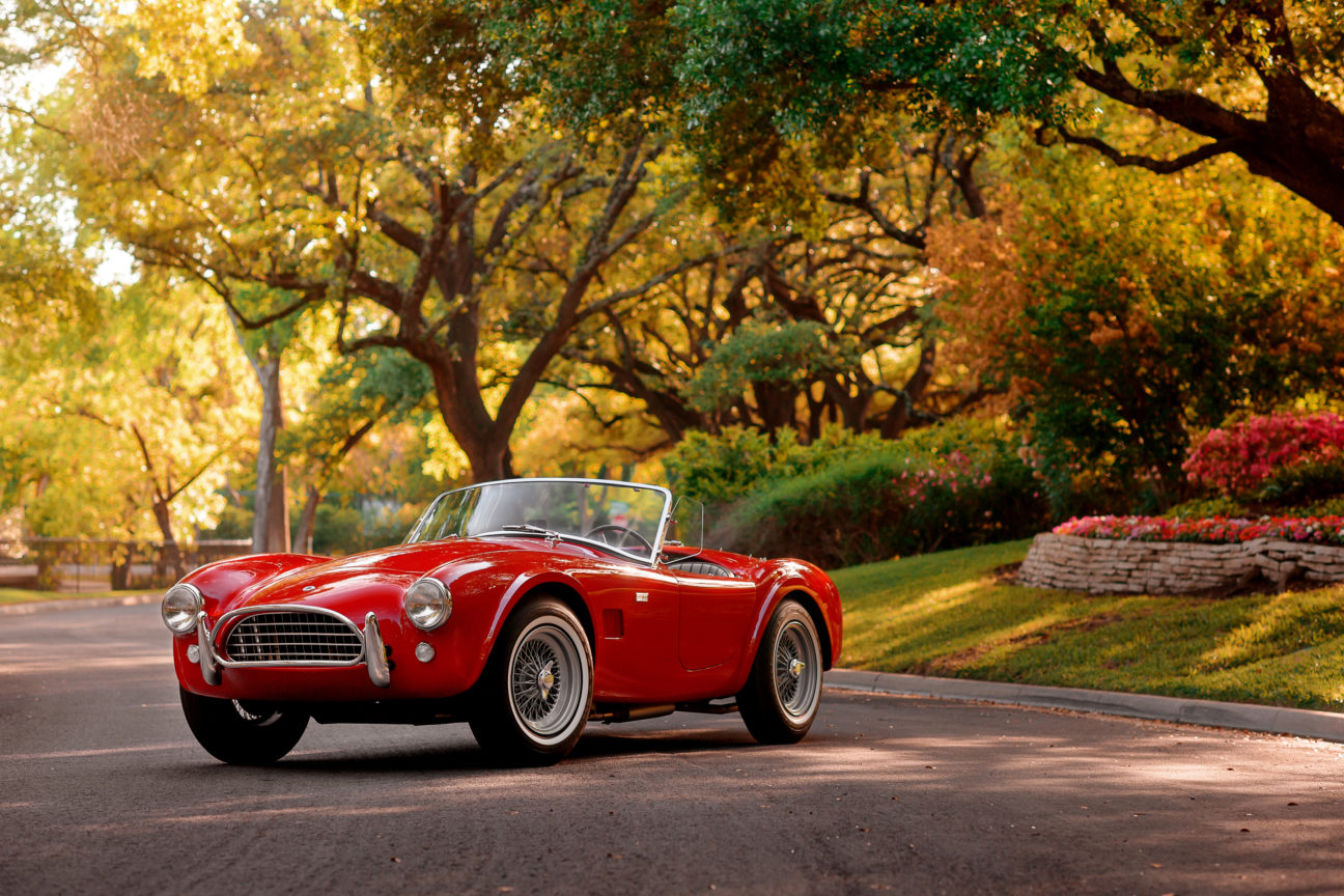 This Shelby Cobra is a true intercontinental sports car