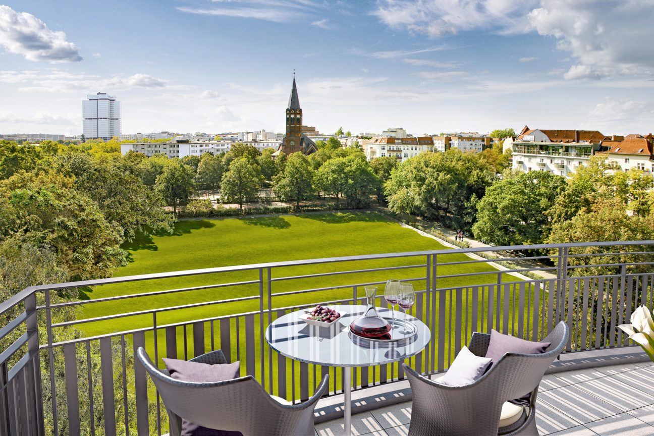 In the heart of Berlin, these arty apartments combine culture and exclusivity