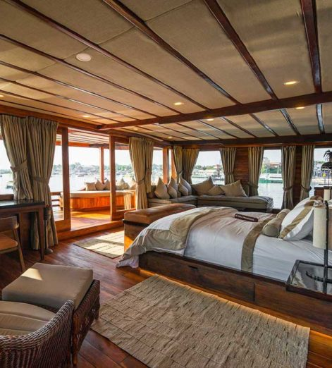 New to charter, Prana by Atzaro evokes a more refined age of seafaring