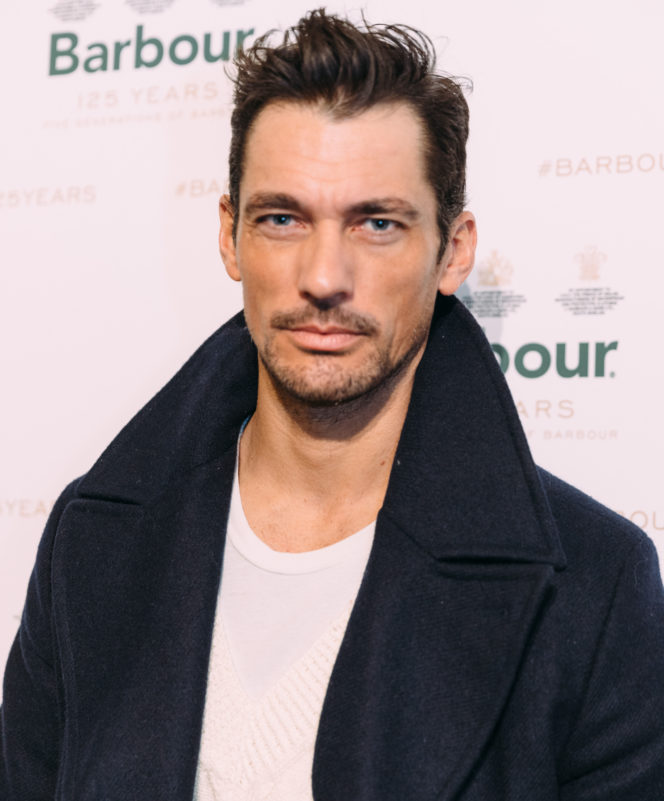 David Gandy and Jack Guinness attend the Barbour AW19 presentation