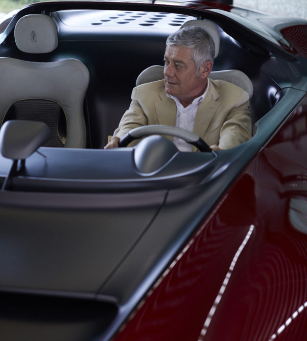 Paolo Pininfarina's family designed your favourite supercar