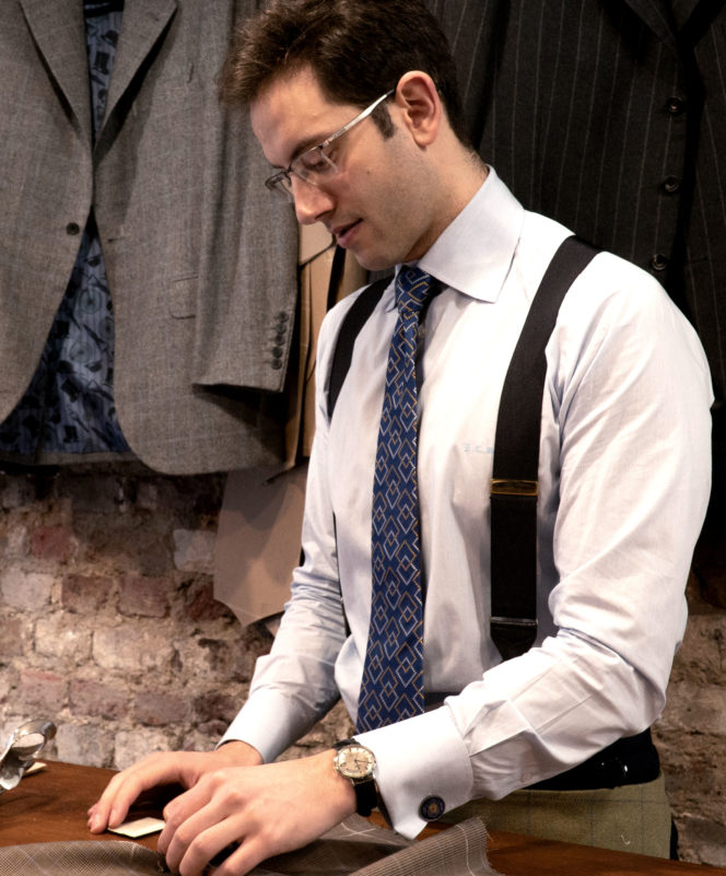 London's tailors and their watches