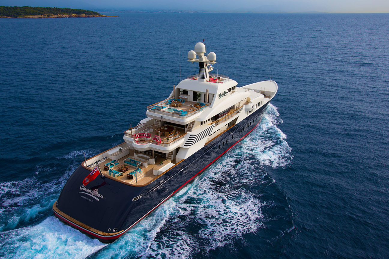 The best yachts to charter in 2019