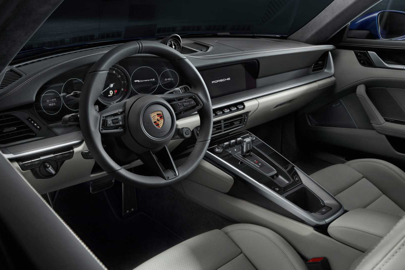 The latest 911 Carrera honours the design of classic Porsches