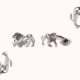 Editor's Picks: Lion Cufflinks, Crystal Caviar Set and Basquiat Coffee Table Book