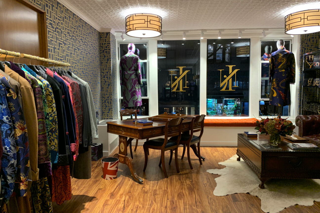 Step inside the colourful world of New & Lingwood