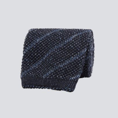 Here's why your next tie should be knitted