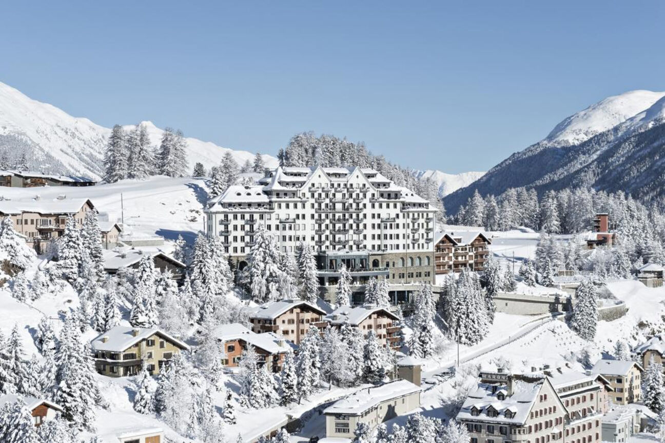 Exploring the slopes with the outdoor butler of St. Moritz