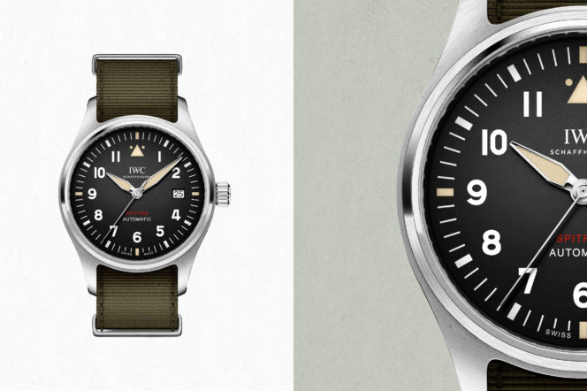 First look at the IWC Pilot's watch Automatic Spitfire