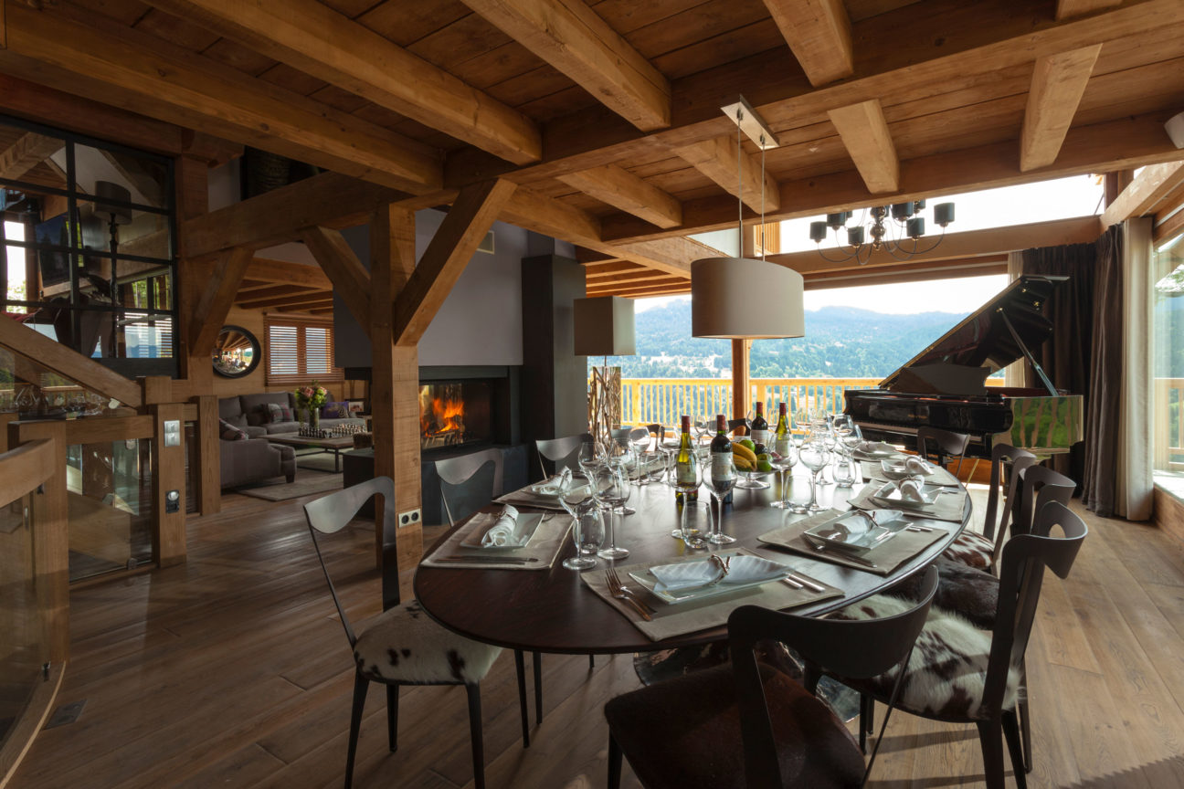 This award-winning Les Gets chalet could be yours
