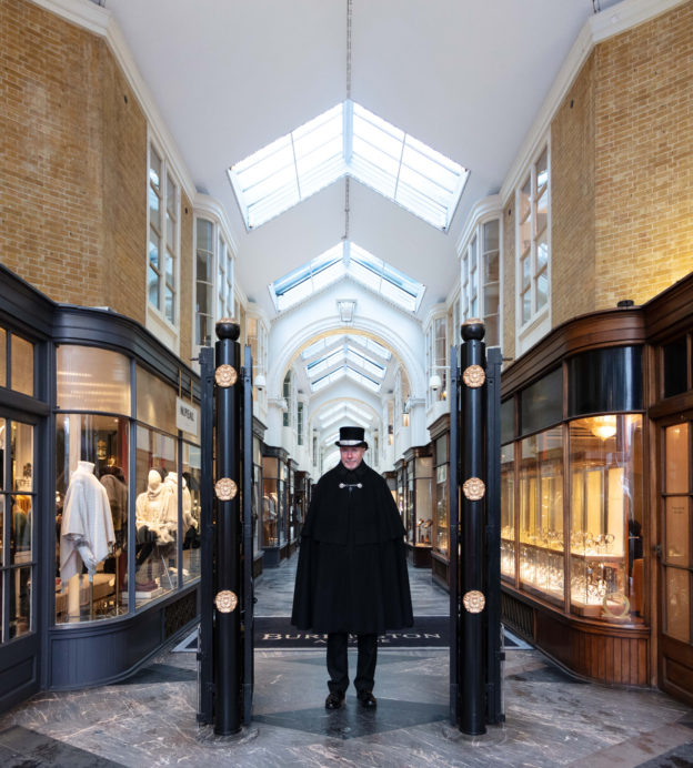 A trip down Burlington Arcade, London's grand shopping gallery