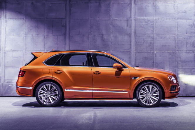 Editor's Picks: Bentley Bentayga Speed, Vertex Chronograph and Silver Champagne Cooler