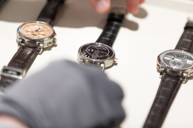 Welcoming A. Lange & Söhne, the luxury German watchmakers, to London