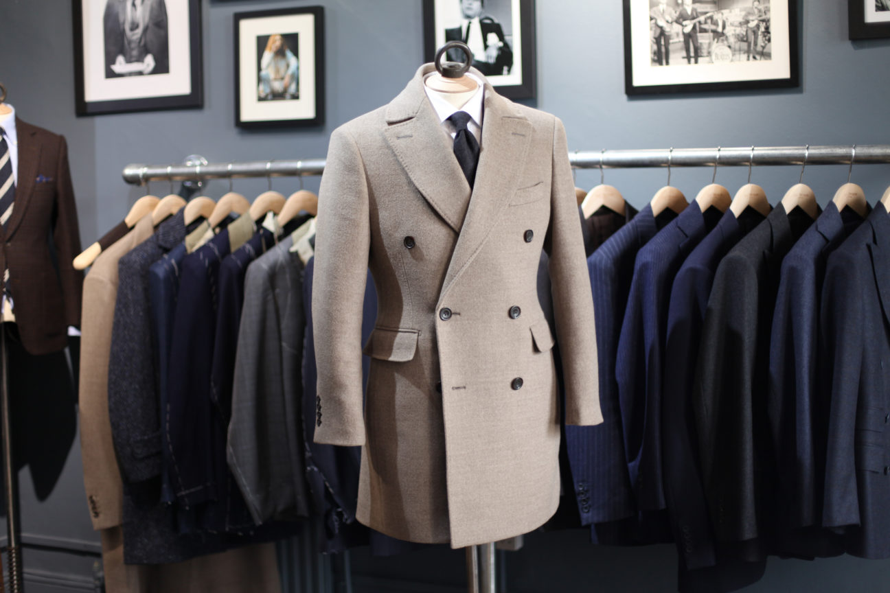 Forget tailored suits. Here's why you should be investing in a bespoke overcoat