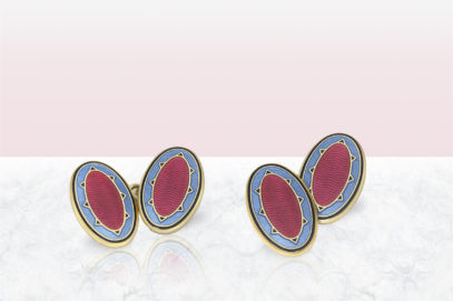 Wear your heart on your sleeve with these statement cufflinks