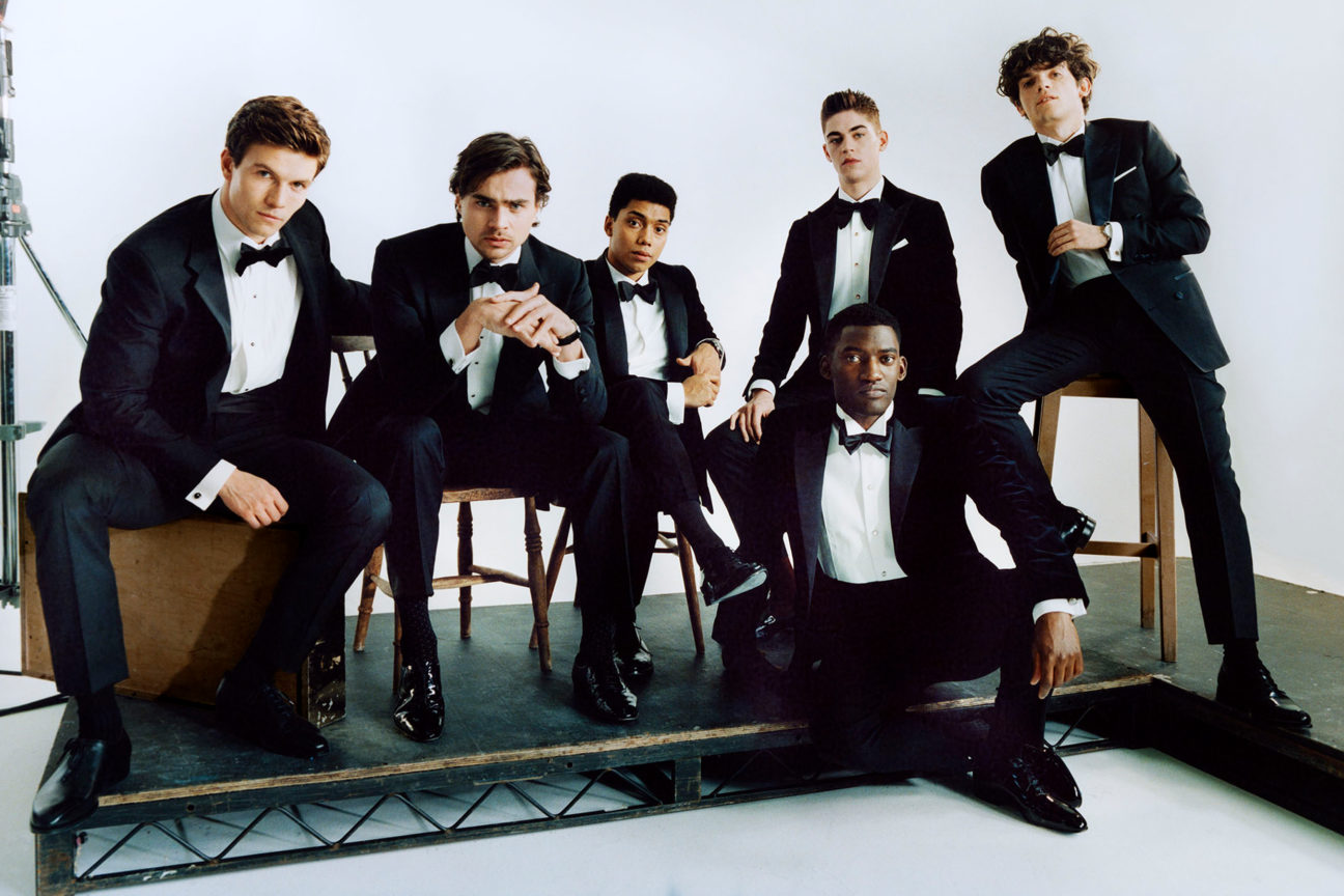 Issue preview: Introducing The Brit Pack, a new generation of British actors