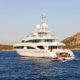 Step aboard superyacht Inception for a cinematic voyage