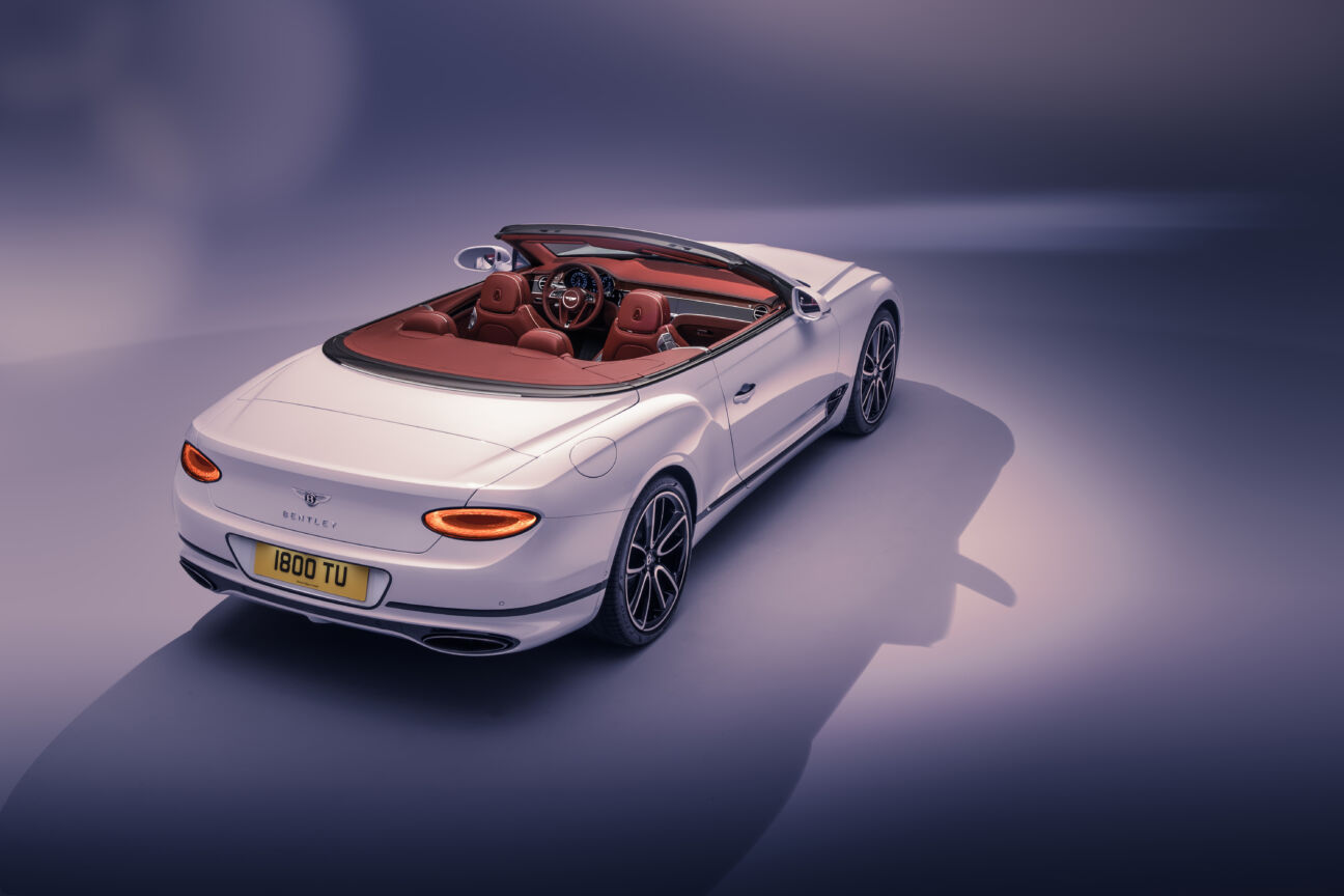 Bentley's new Continental GT Convertible goes the extra mile