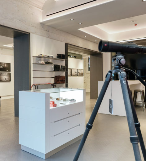 A first look at the new Leica store