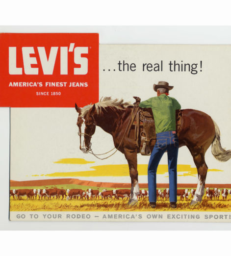 The riveting history of Levi's jeans