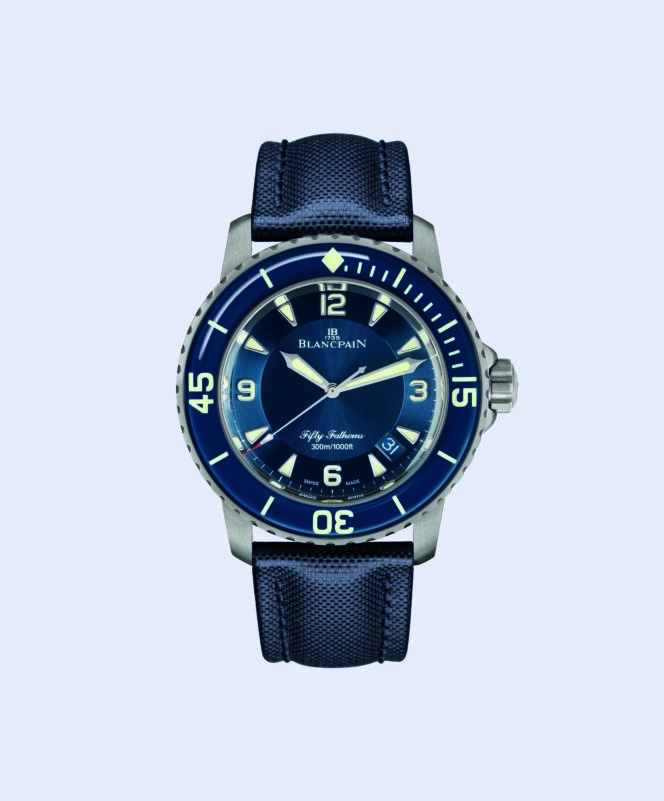 Why modern watchmakers have caught a case of the blues