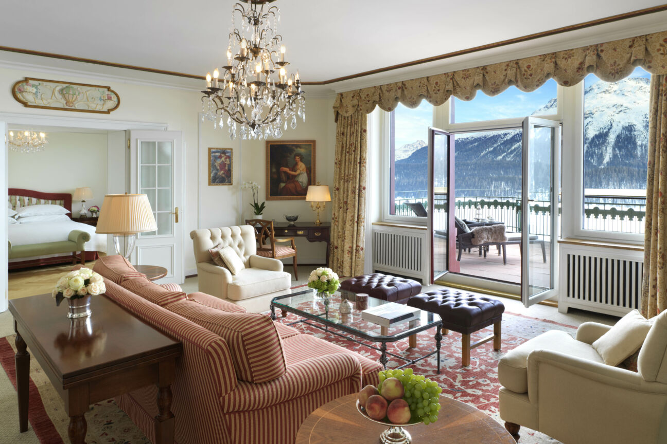 At Badrutt's Palace, the spirit of the Jet Set is alive and well
