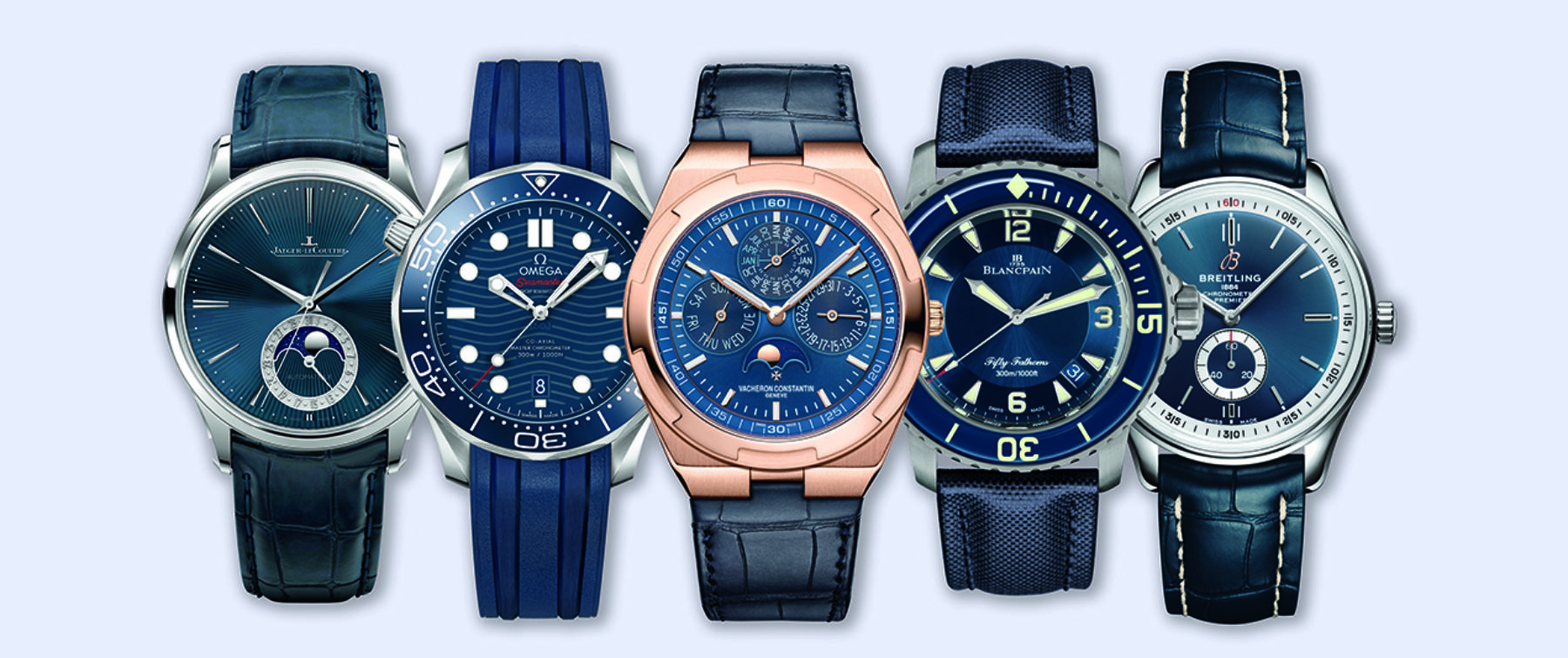 Why modern watchmakers have caught a case of the blues | Gentleman's Journal
