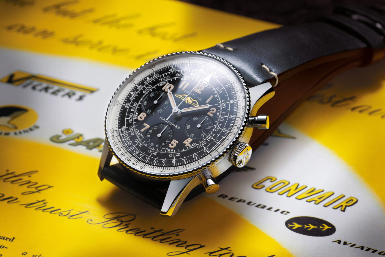 The evolution of the Breitling Navitimer
