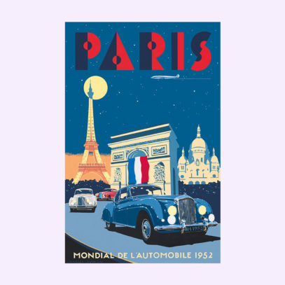 Your home doesn't contain enough vintage travel posters