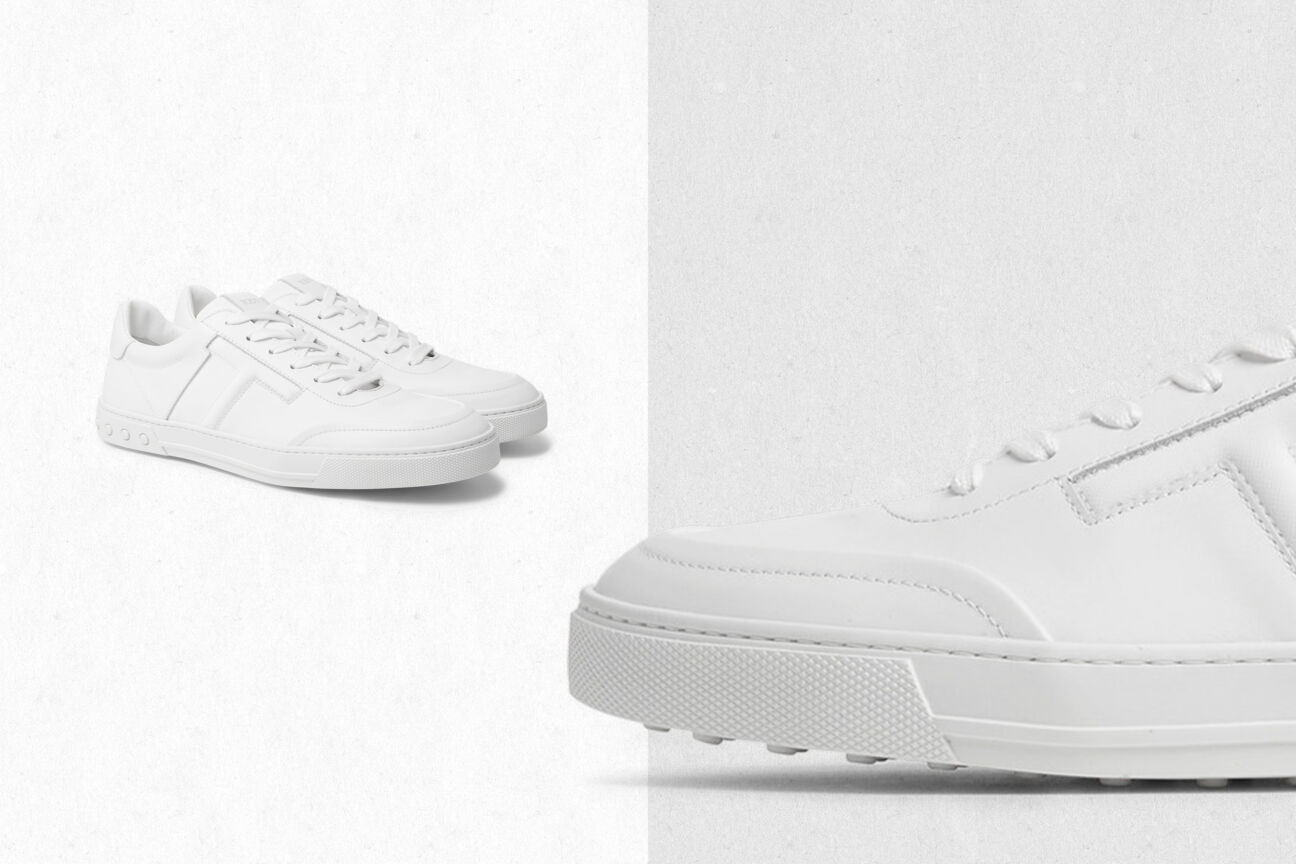 Lace up our favourite white trainers for SS19