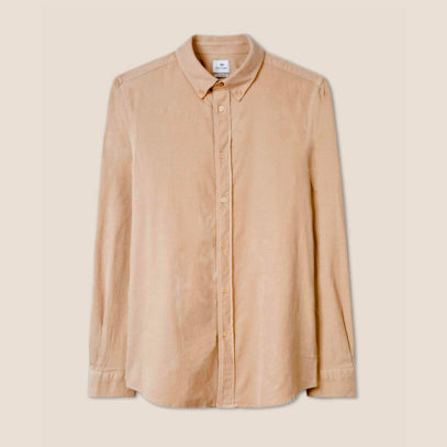 A corduroy shirt is your new spring style staple
