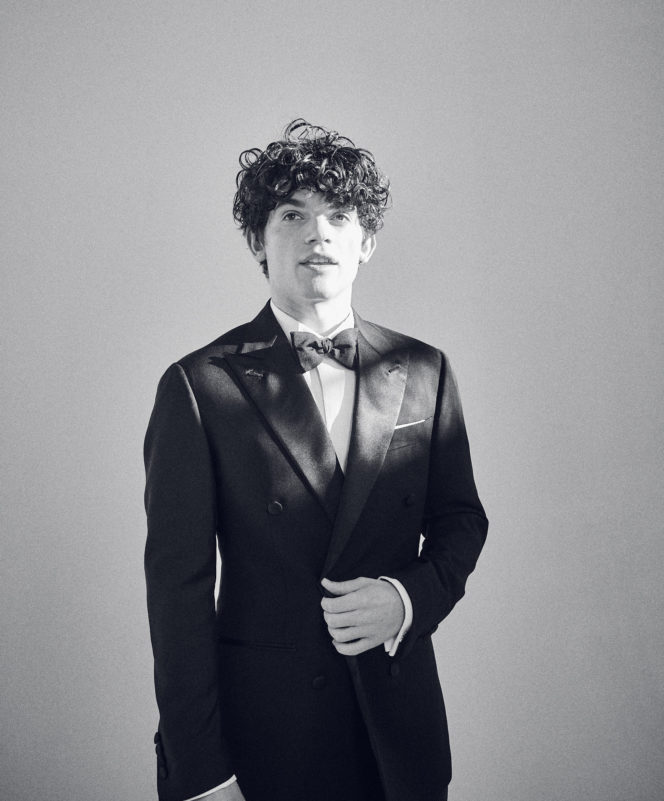 "Edward Bluemel: ""There's nothing wrong with being intimidated"""