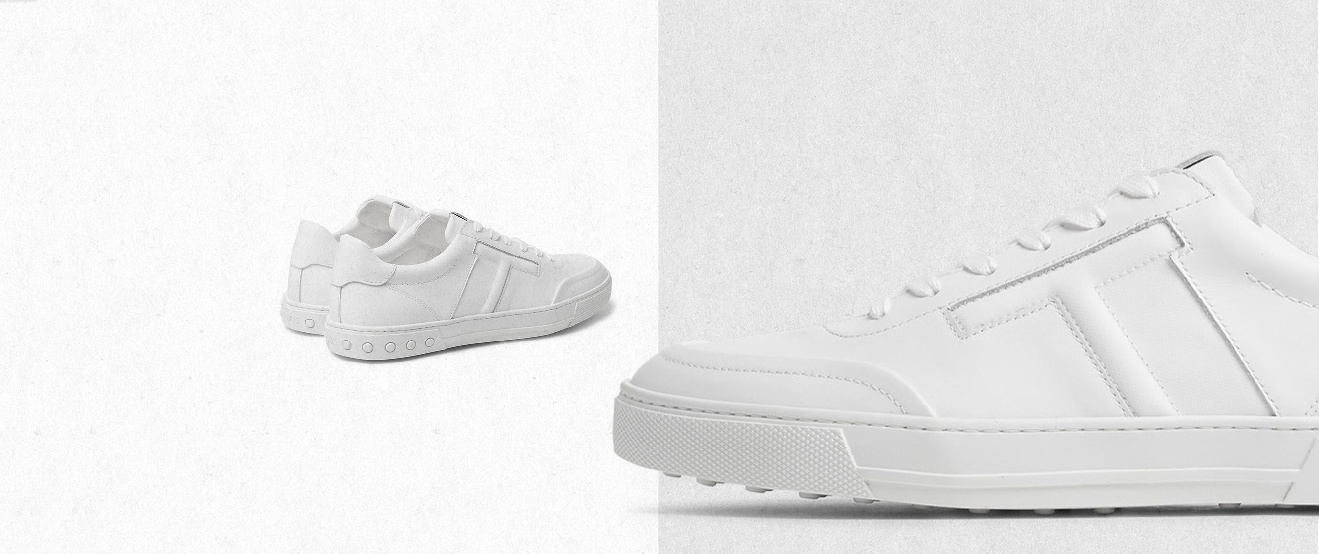Lace up our favourite white trainers