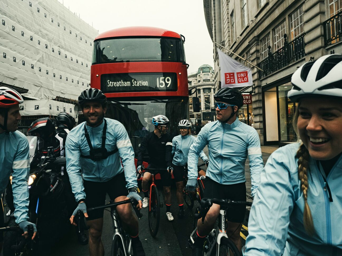 Ride along behind the scenes on the Gentleman's Journal 'Race to Bicester Village'