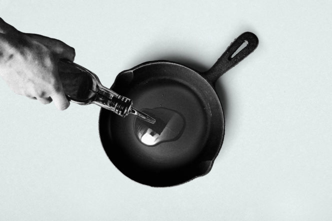 Here's how to properly season your cast iron skillet