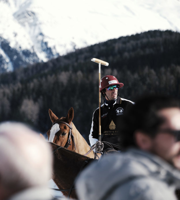 Behind the scenes at the Snow Polo World Cup in St Moritz